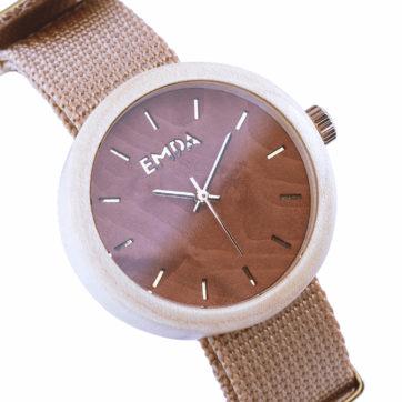 Damski zegarek drewniany