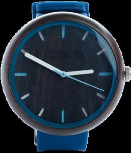 Nowoczesny zegarek drewniany